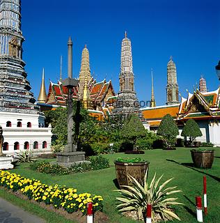 Thailand, Central Thailand, Bangkok: The Grand Palace | Thailand, Zentralthailand, Bangkok: Der Grosse Palast