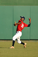 """September 14, 2009:  Dale """"D.K."""" Carey, one of many top prospects in action, taking part in the 18U National Team Trials at NC State's Doak Field in Raleigh, NC.  Photo By David Stoner / Four Seam Images"""
