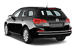 Car pictures of rear three quarter view of a 2015 Opel ASTRA Enjoy 5 Door Wagon 2WD Angular Rear