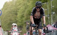 Romain Bardet (FRA/DSM) at the finish<br /> <br /> 104th Giro d'Italia 2021 (2.UWT)<br /> Stage 19 from Abbiategrasso to Alpe di Mera (Valsesia)(176km)<br /> <br /> ©kramon