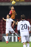Christian Maggio of Benevento Calcio in action<br /> during the Serie A football match between Benevento Calcio and Spezia Calcio at stadio Ciro Vigorito in Benevento (Italy), November 7th, 2020. <br /> Photo Cesare Purini / Insidefoto