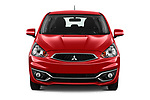 Car photography straight front view of a 2019 Mitsubishi Space Star In 5 Door Hatchback