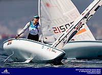 Genoa, Italy is hosting sailors for the third regatta of the 2019 Hempel World Cup Series from 15-21 April 2019. More than 700 competitors from 60 nations are racing across eight Olympic Events. ©PEDRO MARTINEZ/SAILING ENERGY/WORLD SAILING<br /> 17 April, 2019.
