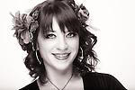 USA, Oregon, Eugene, Belly Dancer beauty portrait. MR