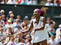 30-06-12, England, London, Tennis , Wimbledon, Serena Williams