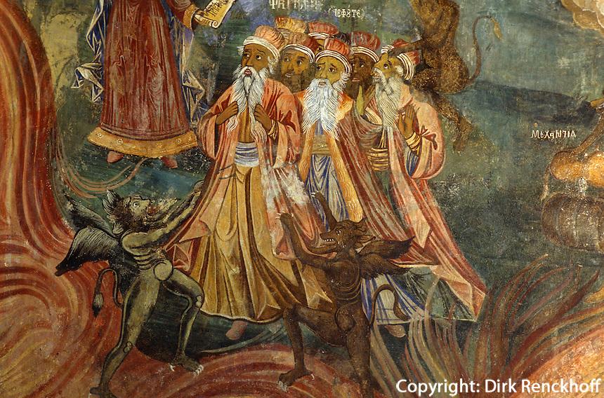 Bulgarien, Kloster Trojan, Freske