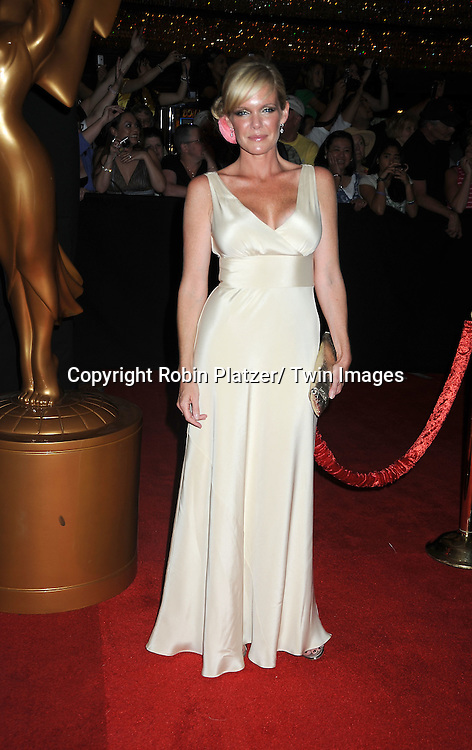 Maura West arriving at The 37th Annual Daytime Emmy Awards on June 27, 2010 at The Hilton in Las Vegas, Nevada.