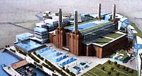 London: Battersea Power Station Model.