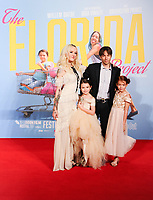 """Brooklyn Kimberly Prince, Bria Vinaite, director, Sean Baker and Valeria Cotto<br /> arriving for the London Film Festival 2017 screening of """"The Florida Project"""" at Odeon Leicester Square, London<br /> <br /> <br /> ©Ash Knotek  D3335  13/10/2017"""