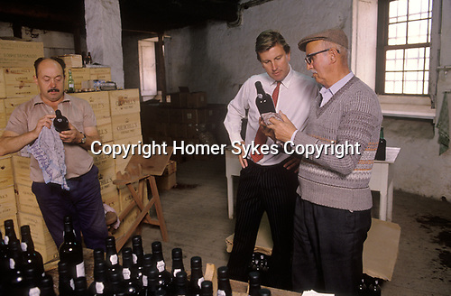 Johnny Graham Oporto Portugal 1989. Churchill Graham Port Wine 1980s.