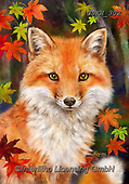 Kayomi, CUTE ANIMALS, LUSTIGE TIERE, ANIMALITOS DIVERTIDOS, paintings+++++,USKH302,#ac#, EVERYDAY ,#A#,realistic ,fox,foxes