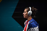 JACKSONVILLE, FL - NOVEMBER 10: Carli Loyd #10 of the United States walks into the stadium during a game between Costa Rica and USWNT at TIAA Bank Field on November 10, 2019 in Jacksonville, Florida.