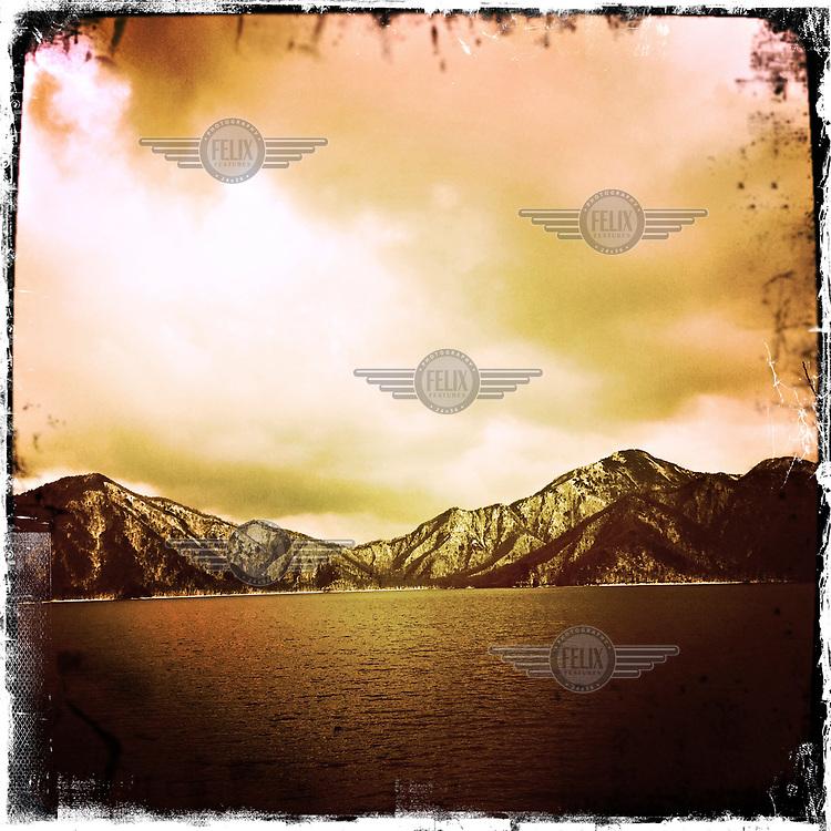 Lake Chuzenji in the Nikko National Park.
