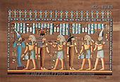 Interlitho, MODERN, Fantasy, paintings, 4 men, 3 women, egypt.sym., KL4345,#N# illustrations, pinturas
