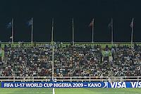 Sani Abacha Stadium.  Spain defeated the U.S. Under-17 Men National Team  2-1 at Sani Abacha Stadium in Kano, Nigeria on October 26, 2009.