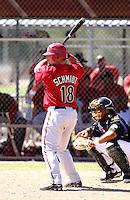 Konrad Schmidt / Arizona Diamondbacks 2008 Instructional League..Photo by:  Bill Mitchell/Four Seam Images