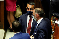 Italian Minister of Foreign Affairs Luigi di Maio during the Premier speech at the Chamber of Deputies. Rome (Italy), July 22nd 2020<br /> Foto Samantha Zucchi Insidefoto