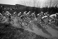 48th Amstel Gold Race 2013..peloton up the Gulperberg