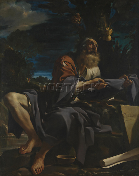 Full title: Elijah fed by Ravens<br /> Artist: Guercino<br /> Date made: 1620<br /> Source: http://www.nationalgalleryimages.co.uk/<br /> Contact: picture.library@nationalgallery.co.uk<br /> <br /> Copyright © The National Gallery, London
