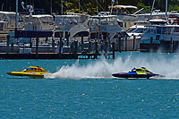 """Frame 3: Andrew Tate, H-300 """"Pennzoil"""", Donny Allen, H-14 """"Legacy 1""""       (H350 Hydro)"""