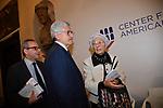 """ARMANDO BARUCCO, MASSIMO D'ALEMA E EMMA BONINO<br /> CONVEGNO """"THINKING DEMOCRACY NOW"""" DELLA FONDAZIONE FELTRINELLI <br /> CENTRO STUDI AMERICANI ROMA 2020"""
