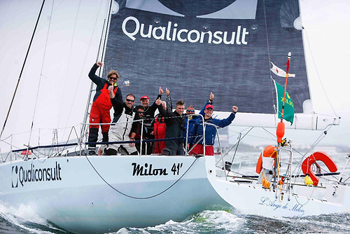 Jacques Pelletier's Milon 41 L'Ange De Milon topped IRC One in the 2019 Rolex Fastnet Race