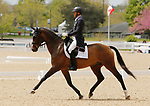 April 22, 2021: 5 Long Island T and rider Boyd Martin finish 4th on the leaderboard for day 1 of 5* Dressage  at the Land Rover Three Day Event at the Kentucky Horse Park in Lexington, KY on April 22, 2021.  Candice Chavez/ESW/CSM