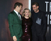 """LOS ANGELES - FEB 24:  Jason Blum, Elisabeth Moss, and Oliver Jackson-Cohe at the """"The Invisible Man"""" Premiere at the TCL Chinese Theater IMAX on February 24, 2020 in Los Angeles, CA"""