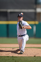 Detroit Tigers pitcher Brendan White (54) during a Florida Instructional League intrasquad game on October 24, 2020 at Joker Marchant Stadium in Lakeland, Florida.  (Mike Janes/Four Seam Images)