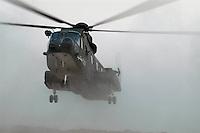 - 6° ROA (Independent Operating Unit) of..the Air Force,  helicopter HH 3F ....- 6° ROA (Reparto Operativo Autonomo) dell'Aeronautica Militare, HH 3F ..