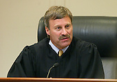 Prince William County (Virginia) Circuit Court Judge LeRoy Millette, Jr., speaks to the jury at the start of the trial of John Allen Muhammad in the Virginia Beach Circuit Court in Virginia Beach, Virginia on November 12, 2003.  The Defense began it's case today. <br /> Credit: Lawrence Jackson - Pool via CNP