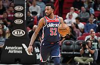 Jordan McRae (G, Washington Wizards, #52) - 22.01.2020: Miami Heat vs. Washington Wizards, American Airlines Arena