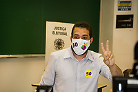 15/11/2020 - SÃO PAULO - 1º TURNO DAS ELEIÇÕES MUNICIPAIS
