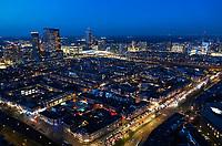 Nederland Den Haag 2020. Den Haag bij avond. . Foto Berlinda van Dam / Hollandse Hoogte