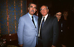 GIULIETTO CHIESA CON MIKHAIL GORBACIOV <br /> COCKTAIL PARTY N ONORE DI GORBACIOV - HOTEL BAGLIONI ROMA 11-2000