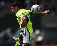 Portland Timbers vs Seattle Sounders FC July 10 2011
