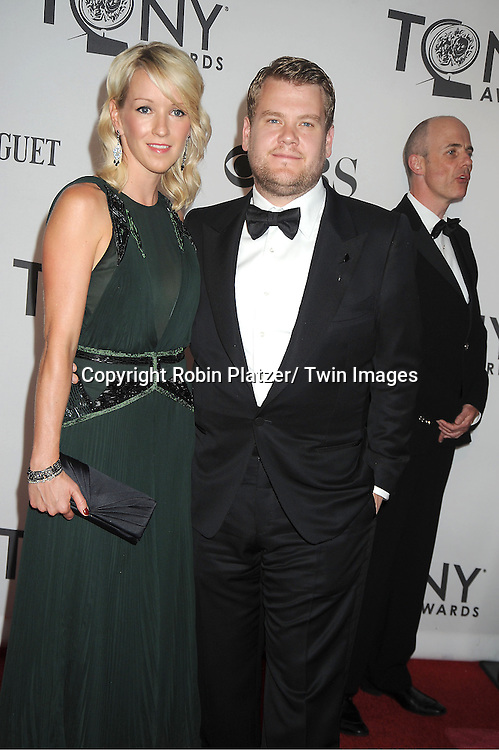 James Gordon and girlfriend Julia  attends th 66th Annual Tony Awards on June 10, 2012 at The Beacon Theatre in New York City.