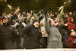 Celebrating Burnleys first goal.