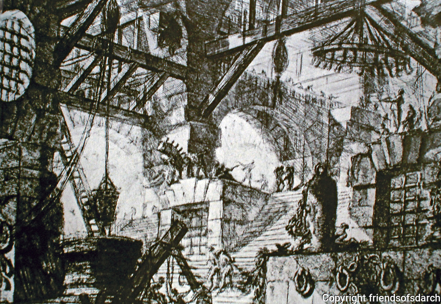 Piranesi Sketch:  The Well, 1761.