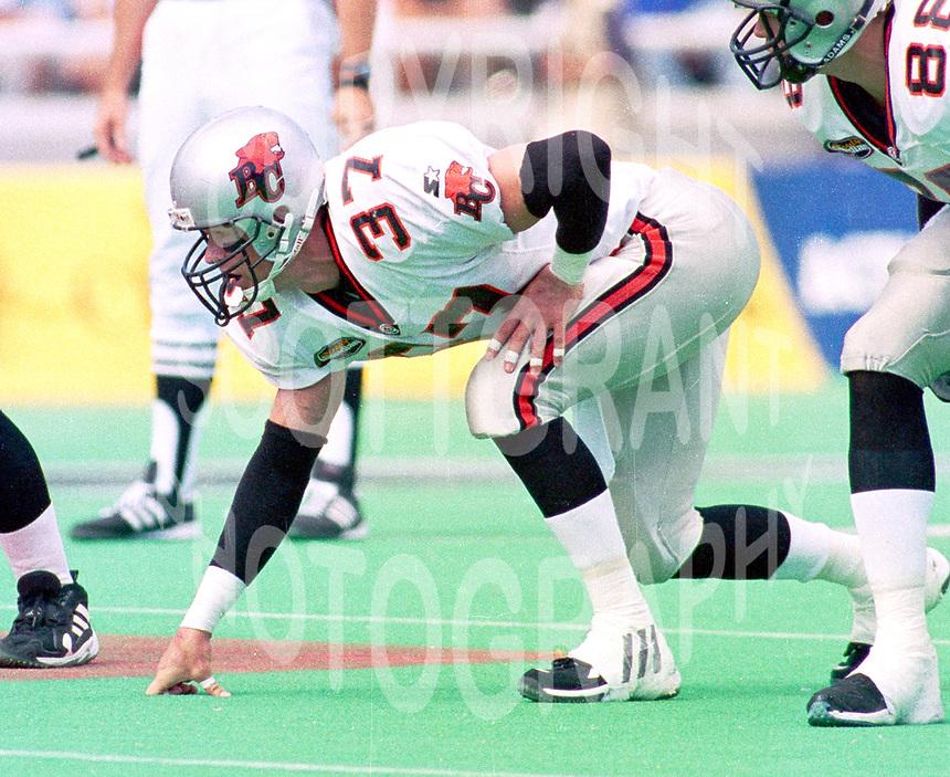 #37-BC Lions-1999-Photo:Scott Grant