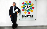 BOGOTA - COLOMBIA, 21-08-2020: Fernando Jaramillo, Presidente de la Division Mayor del Futbol Colombiano (DIMAYOR). /  Fernando Jaramillo, President of the Major Division of Colombian Soccer (DIMAYOR). / Photo: VizzorImage / Luis Ramirez / Staff.