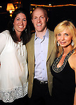 Juli and Craig Lande with Paula Beasley at the second annual Texas Children's Cancer Center Casino Night Cruise in Kemah Friday Oct. 08, 2010. (Dave Rossman/For the Chronicle)