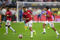 Houston, TX - Tuesday June 21, 2016: Chris Wondolowski prior to a Copa America Centenario semifinal match between United States (USA) and Argentina (ARG) at NRG Stadium.