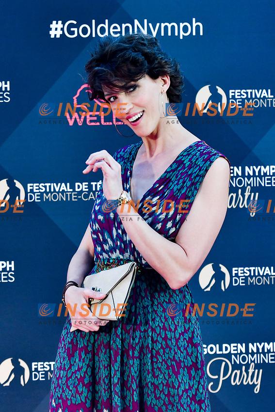 Linda Hardy (Maitresse de ceremonie)<br /> Monaco - 20/06/2017<br /> 57 festival TV Monte Carlo <br /> Foto Norbert Scanella / Panoramic / Insidefoto