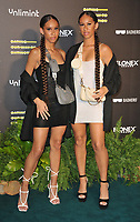 """Nel.Twinnys (Shanae Nel and Renae Nel) at the """"Eating Our Way To Extinction"""" world film premiere, Odeon Luxe Leicester Square, Leicester Square, on Wednesday 08th September 2021, in London, England, UK. <br /> CAP/CAN<br /> ©CAN/Capital Pictures"""