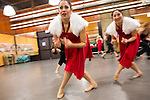 Foothill College dancers prepare for Chinese New Years parade