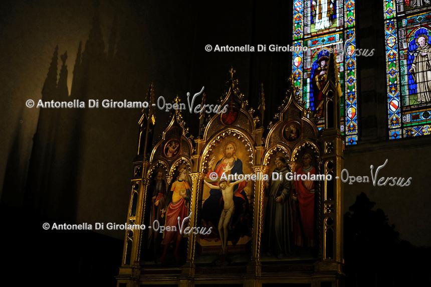 Chiesa Santa Maria Novella,Firenze. Church of Santa Maria Novella, Florence.