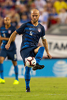 Tampa, FL - Thursday, October 11, 2018: Michael Bradley during a USMNT match against Colombia.  Colombia defeated the USMNT 4-2.