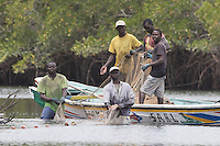 Fishermen of the Saloum Delta in Senegal