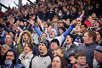 Saturday, 9 March 2013<br /> <br /> Pictured: fans<br /> <br /> Re: Barclays Premier League West Bromich Albion v Swansea City FC  at the Hawthorns, Birmingham, West Midlands